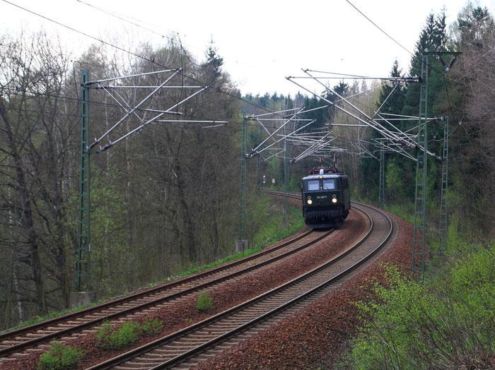 E42 001 Lz bei Dorfhain