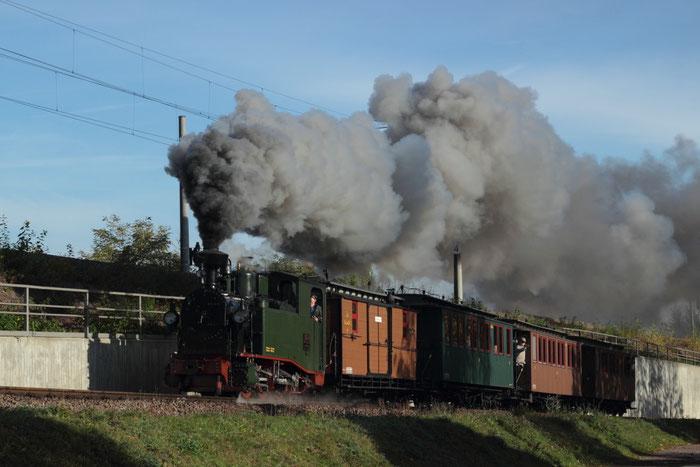 IK Nr 54 kurz nach der Abfahrt in Freital Hainsberg