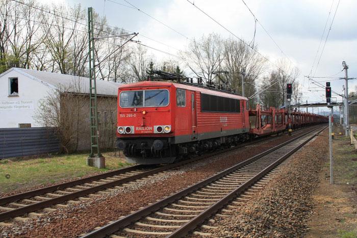 155 266 mit Gz in DKC (Bild mit Erlaubnis des Erstellers eingestellt)