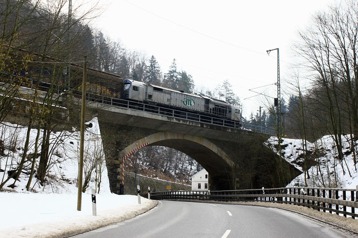 250 006 kurz vor dem Edle Kroner Tunnel