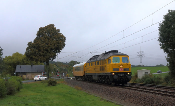 233 493 von DB Bahnbau in Colmnitz