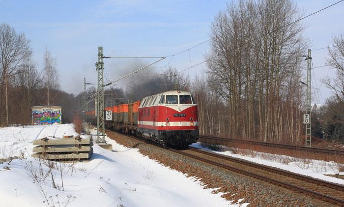 118 770 mit Kokszug in Niederbobritzsch
