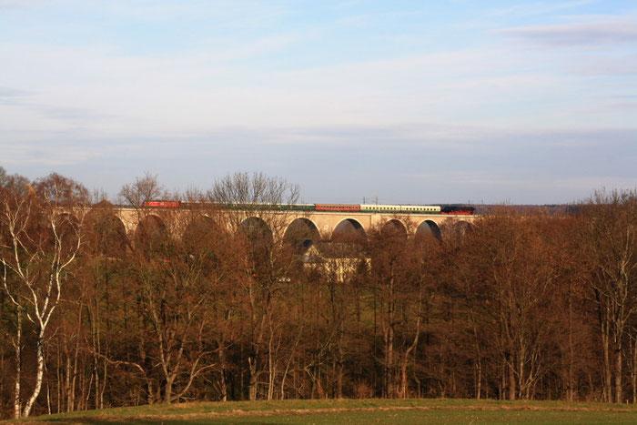 ...auf dem Wegefahrter Viadukt