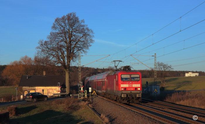 143 932 mit RB 30 in Colmnitz