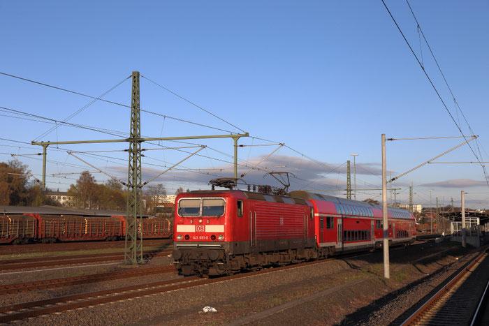 143 891 mit S 3 in Freiberg