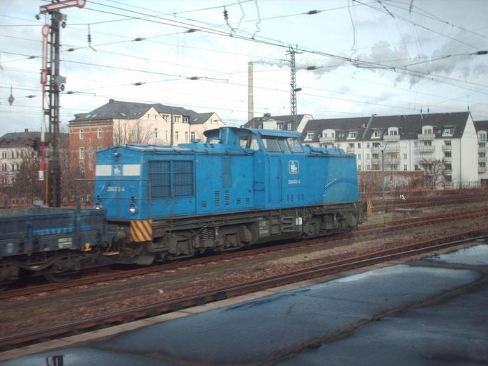 204 012 abgestellt im Bhf. Chemnitz