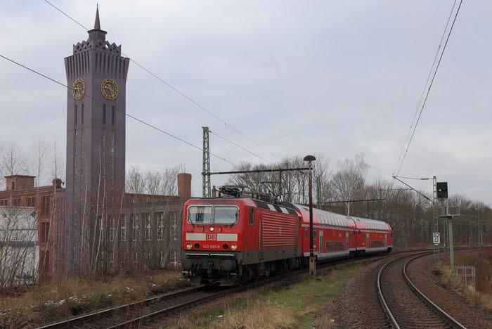 143 891 mit RB 30 in Chemnitz Süd (2)