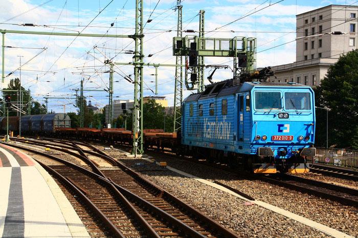 372 010 mit Gz im Dresdner hauptbahnhof