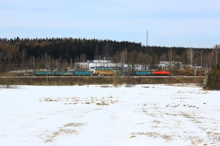 Die Baureihe 261 vor der Übergabe aus Freiberg