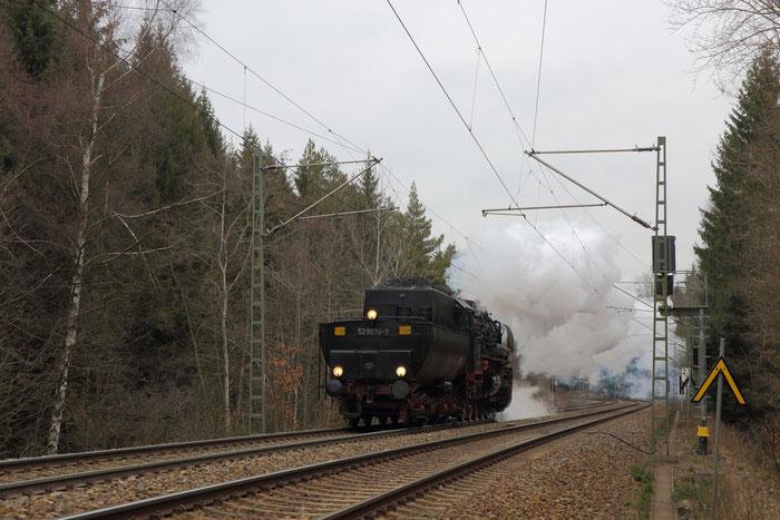 52 8079 mTv am Einfahrvorsignal Klingenberg