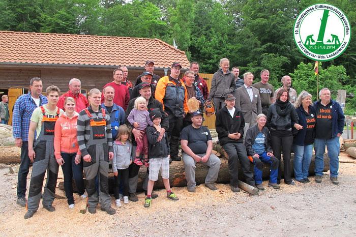 Teilenehmer Treffen 2014