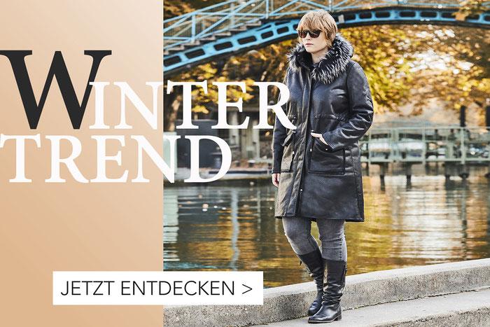 Neue Winter Kollektion , Modetrends für Mollige