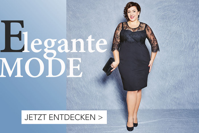 elegante Mode in grossen Grössen