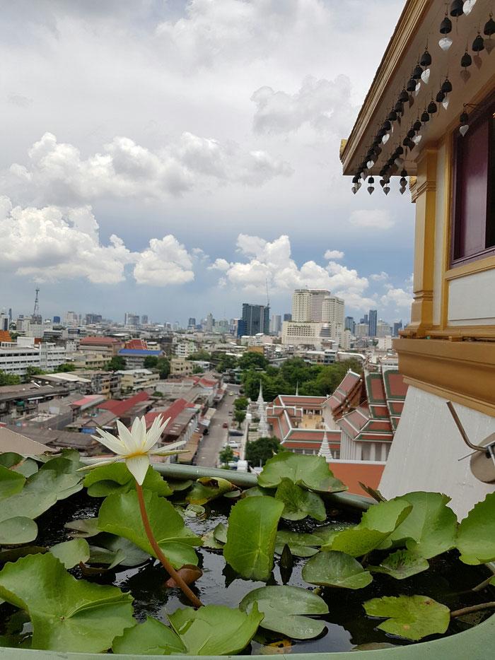 Esta foto describe mucho lo que es Bangkok
