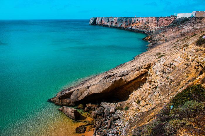 Meerblick an der Algarve