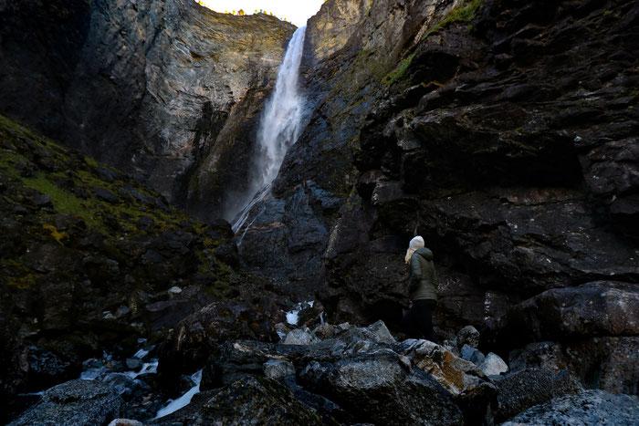 Vettisfossen Wasserfall