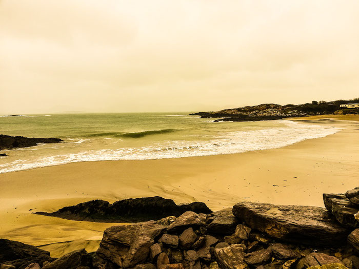 Castlecove Beach am Ring of Kerry
