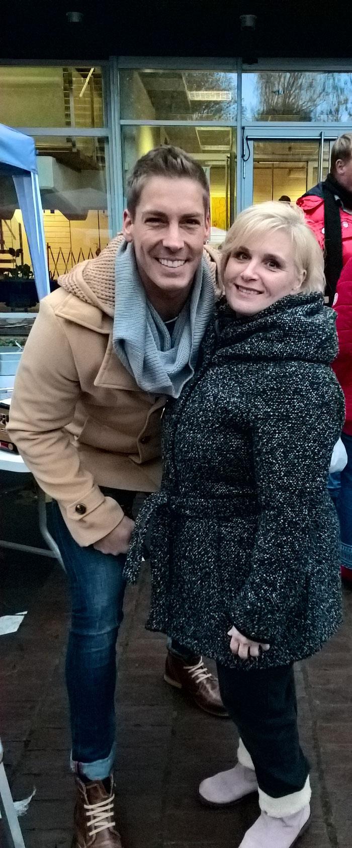 Duett mit Norman Langen auf dem Kaiser Karlfest in Übach-Palenberg  2017
