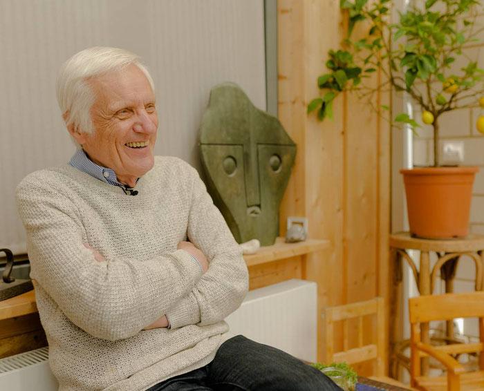 Professor Dieter Volkmann. Foto: Katja Tauber