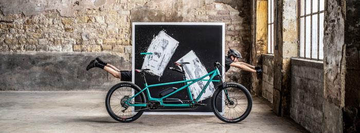 Tandem Moustache Samedi 27 X2; Tisio Bike, atelier vélo; atelier de réparation vélo; vélo électrique; VAE; VTTAE; Moustache