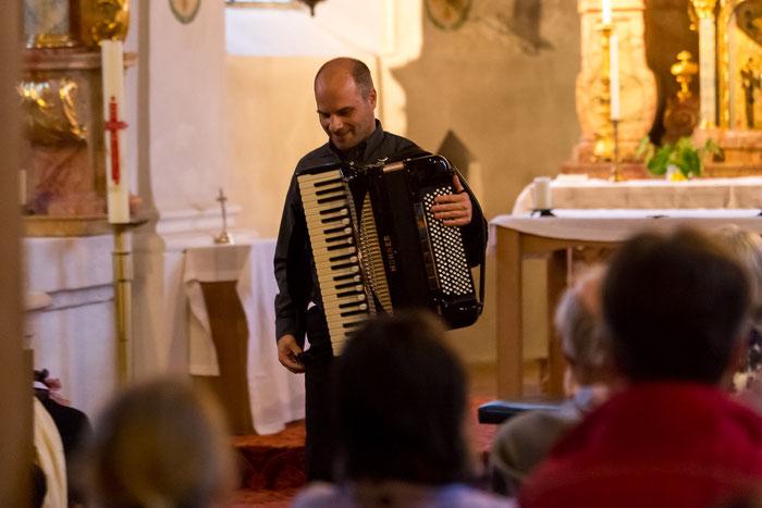 Akkordeon Konzert Martin Schlumberger