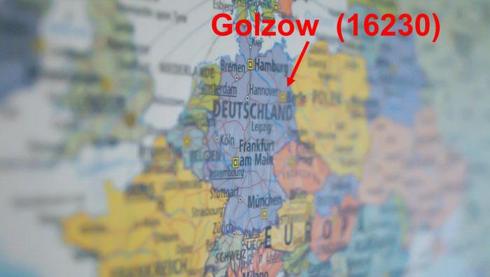 Geografie und Geschichtliches vonGolzow (16230)