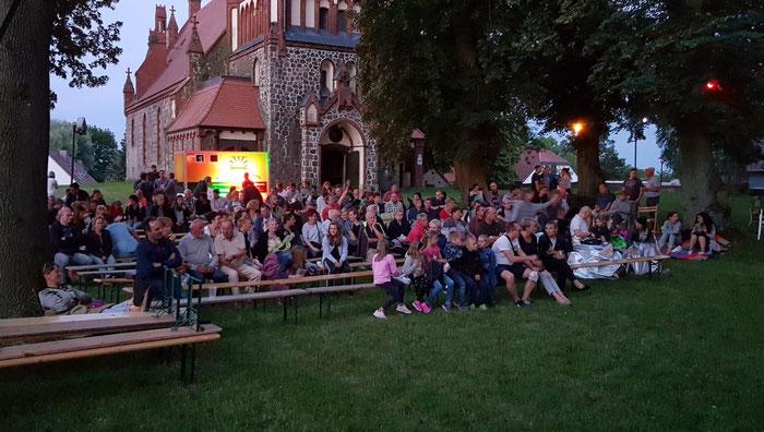 Kino unterm Sternenhimmmel in Golzow 2019