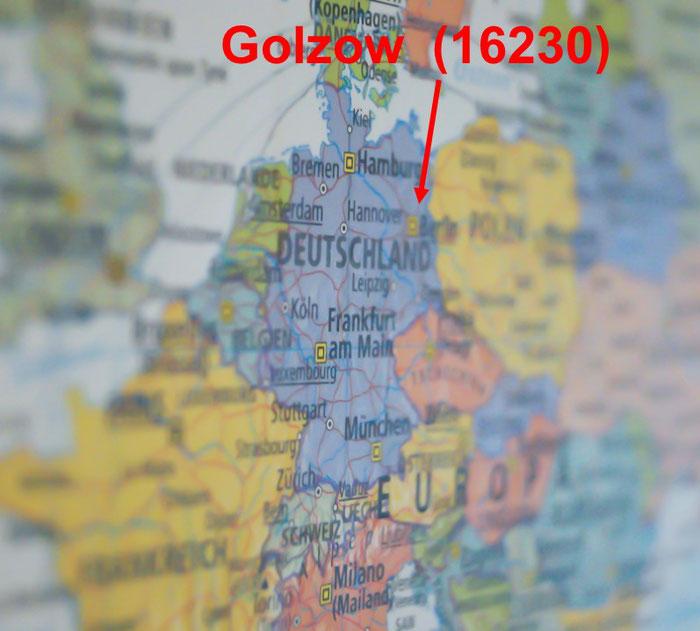 Wo liegt eigentlich Golzow (16230)