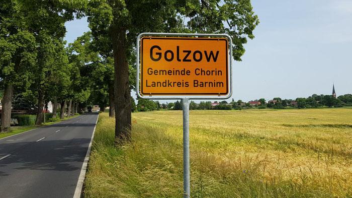 Golzow der Ort