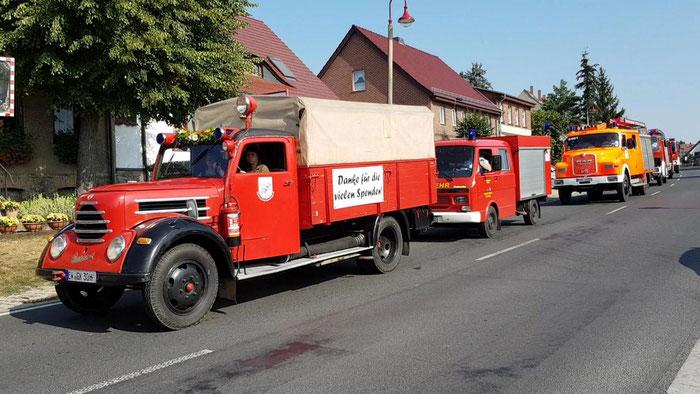 90-jähriges Jubiläum Freiwillige Feuerwehr Golzow