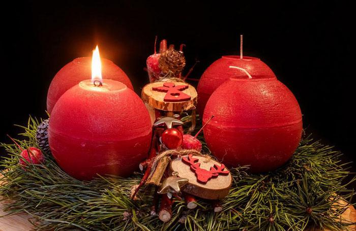 Der Heimatverein Golzow wünscht einen schönen 1. Advent