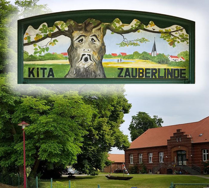 Die Kita Zauberlinde in Golzow