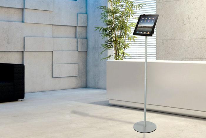 Höhenverstellbaer iPad-Ständer aus Alumnium PadMan