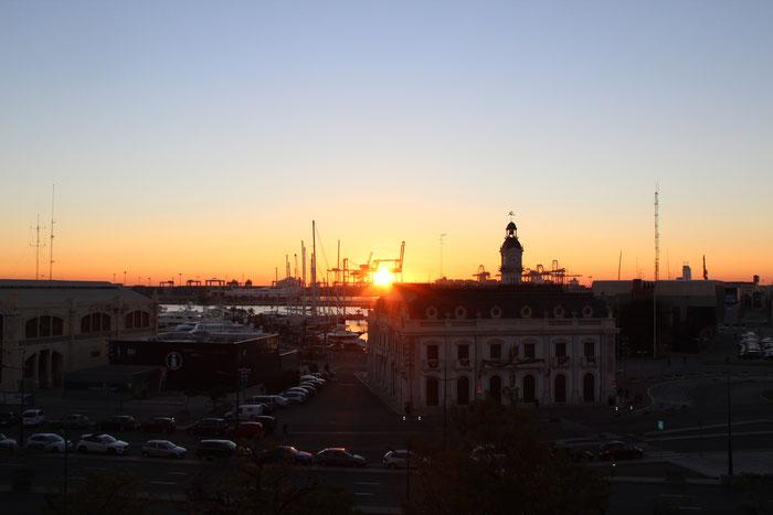 Uitzicht - ochtendgloren