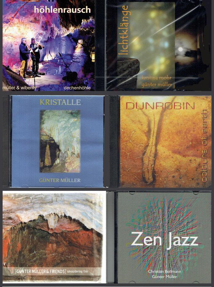 Naturklangmusik von Günter Müller auf CD