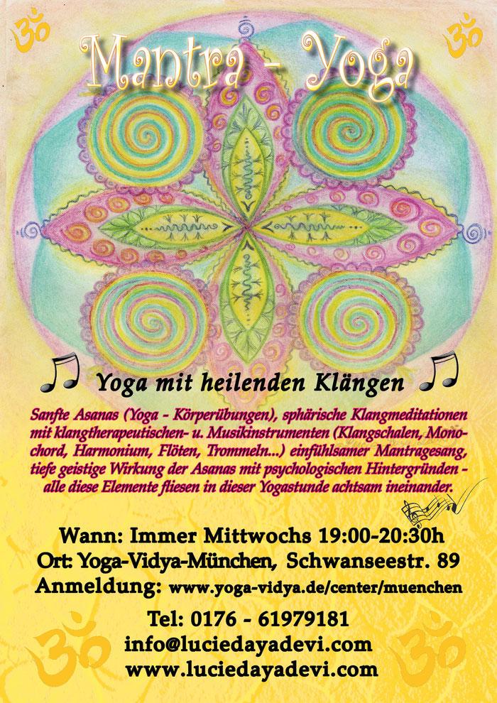 Lucie-Daya-Devi - Mantra Yoga - Yoga mit heilenden Klängen
