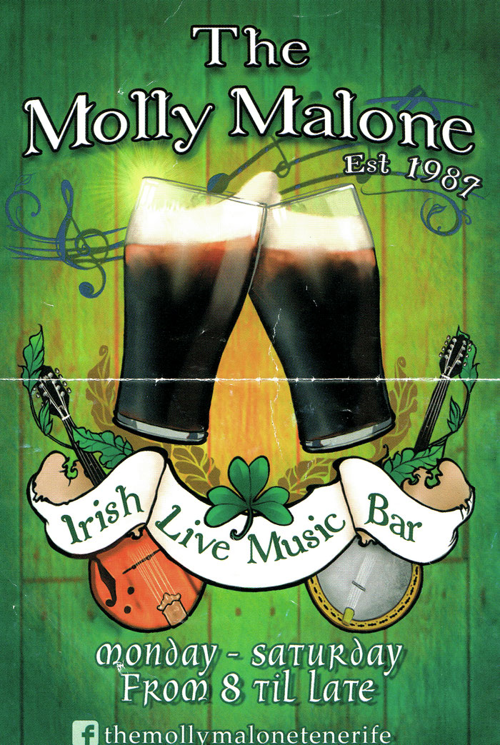 Irish Pub The Molly Malone in Puerto de la Cruz