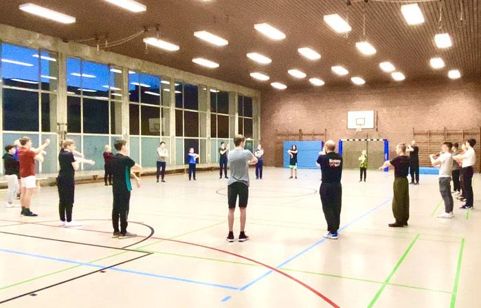 Parkour Training in Wilhelmshaven für Erwachsene und Kinder