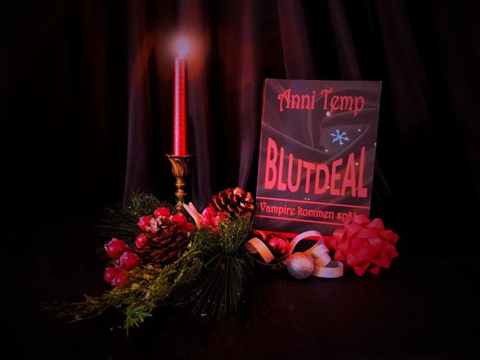 Buch Blutdeal ein schönes Weihnachtsgeschenk