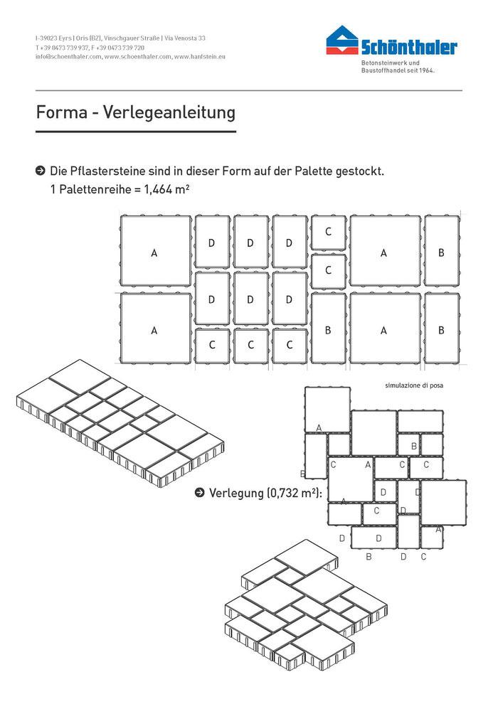 Verlegeanleitung Pflasterstein Forma