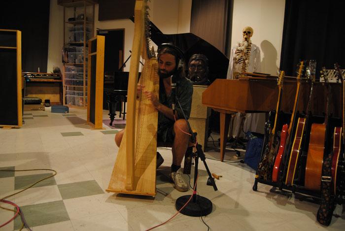 Andy Aquarius Impression Recordings Harp Liam Blomqvist