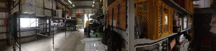 事務所倉庫の様子