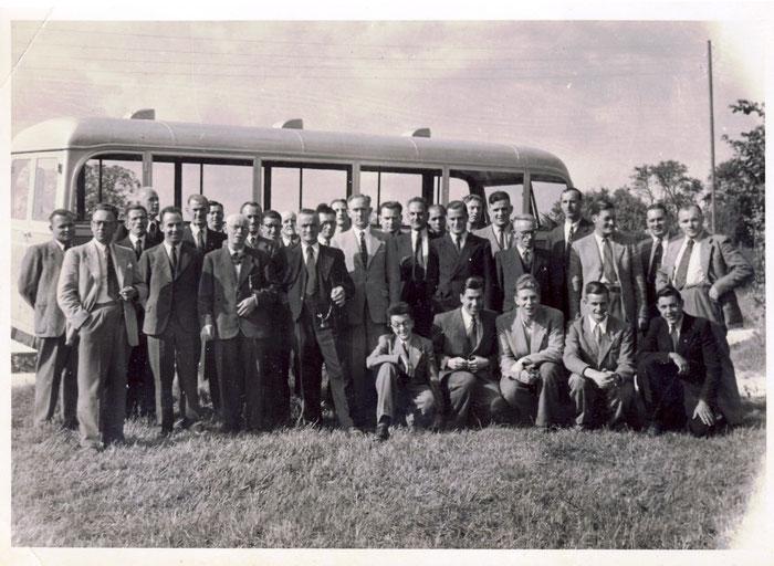 Betriebsausflug mit Bus. Bild: Urs Brutschin