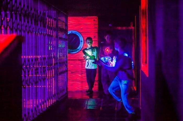 лазерные игровые комнаты в Барселоне