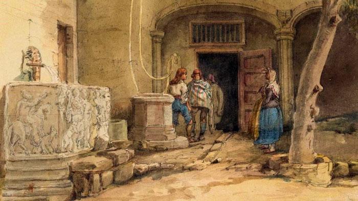 Дом архидьякона в Барселоне XI век