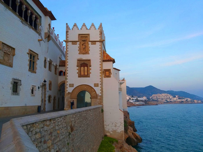 Ситжес - город-курорт в Испании