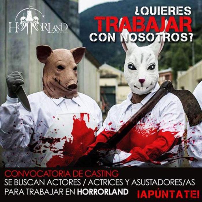 Парк ужасов в Каталонии - Horrorland