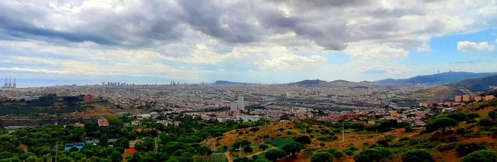 10 смотровых площадок в Барселоне