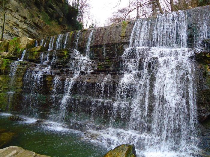 Средневековой Рупит, водопады и ведьмы