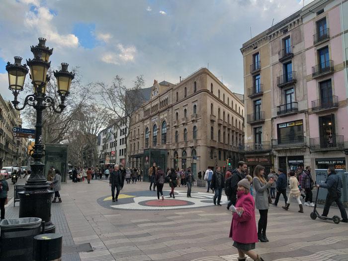 Бульвары Рамблас в Барселоне - интересно